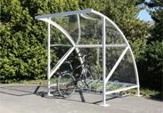 berdachung fahrradst nder robuste stahlkonstruktionen. Black Bedroom Furniture Sets. Home Design Ideas