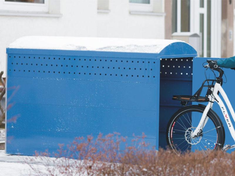 fahrradgarage bikebox 1. Black Bedroom Furniture Sets. Home Design Ideas