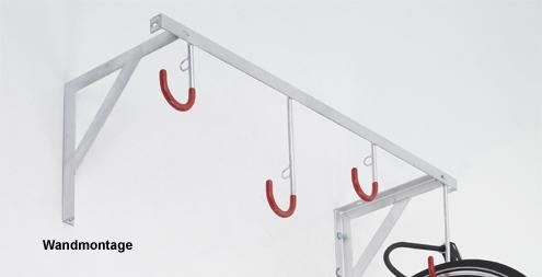 Deckenmontage Fahrradst/änder Reihen-H/ängeparker Modell 3802 mit 2 Einstellpl/ätzen