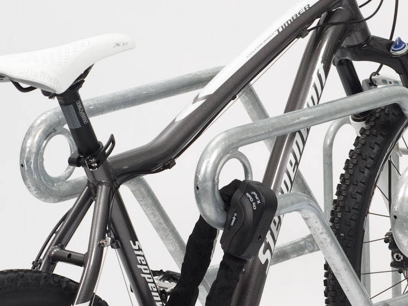 Fahrradständer Reihenparker - Kombiparker 4600