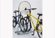 fahrradst nder mit werbefl che f r einzelhandel und gewerbe. Black Bedroom Furniture Sets. Home Design Ideas